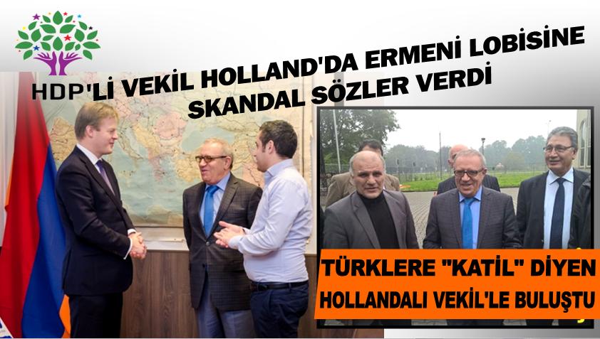 Hollanda'da Ermeni kilisesinin ayinine katilan HDP'li vekil bakin kimle beraberdi kapak