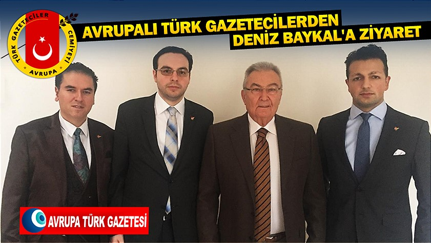 avrupali turk gazeteciler deniz baykal ziyareti