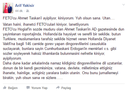 Arif-Yakisir-facebook feto itiraflari