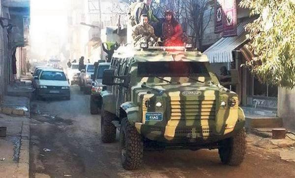 ABD'den terör örgütü YPG'ye yeni silah sevkiyatı