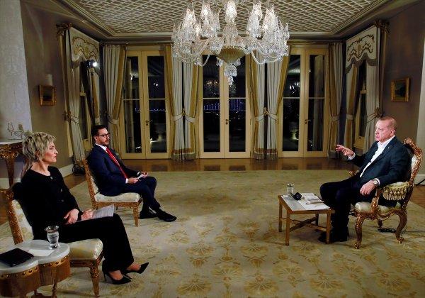 Cumhurbaşkanı, TRT'de gündemi değerlendirdi