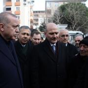 Erdoğan incelemelerde bulundu! İşte enkaz bölgesinden çarpıcı kareler