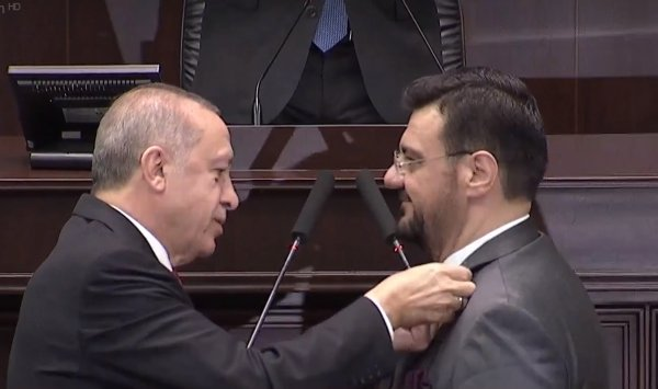 İyi Parti'den istifa eden Tamer Akkal, AK Parti'ye geçti
