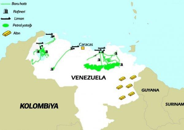 Maduro'ya göre Trump petrol yüzünden saldırıyor