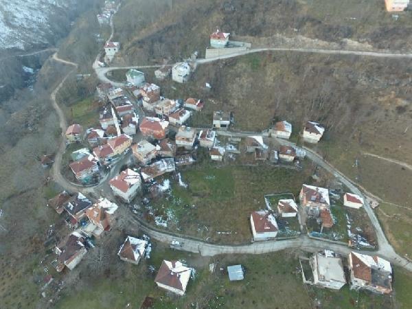 Ordu'da heyelan nedeniyle 17 bina tahliye edildi