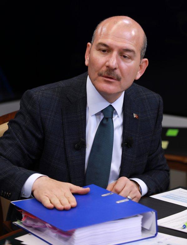 Bakan Soylu: Zillet ittifakına katılan 299 HDP'li var