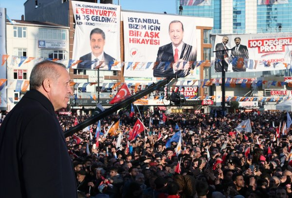 Cumhurbaşkanı Erdoğan: Şişli'yi çöp dağlarına mahkum ettiler