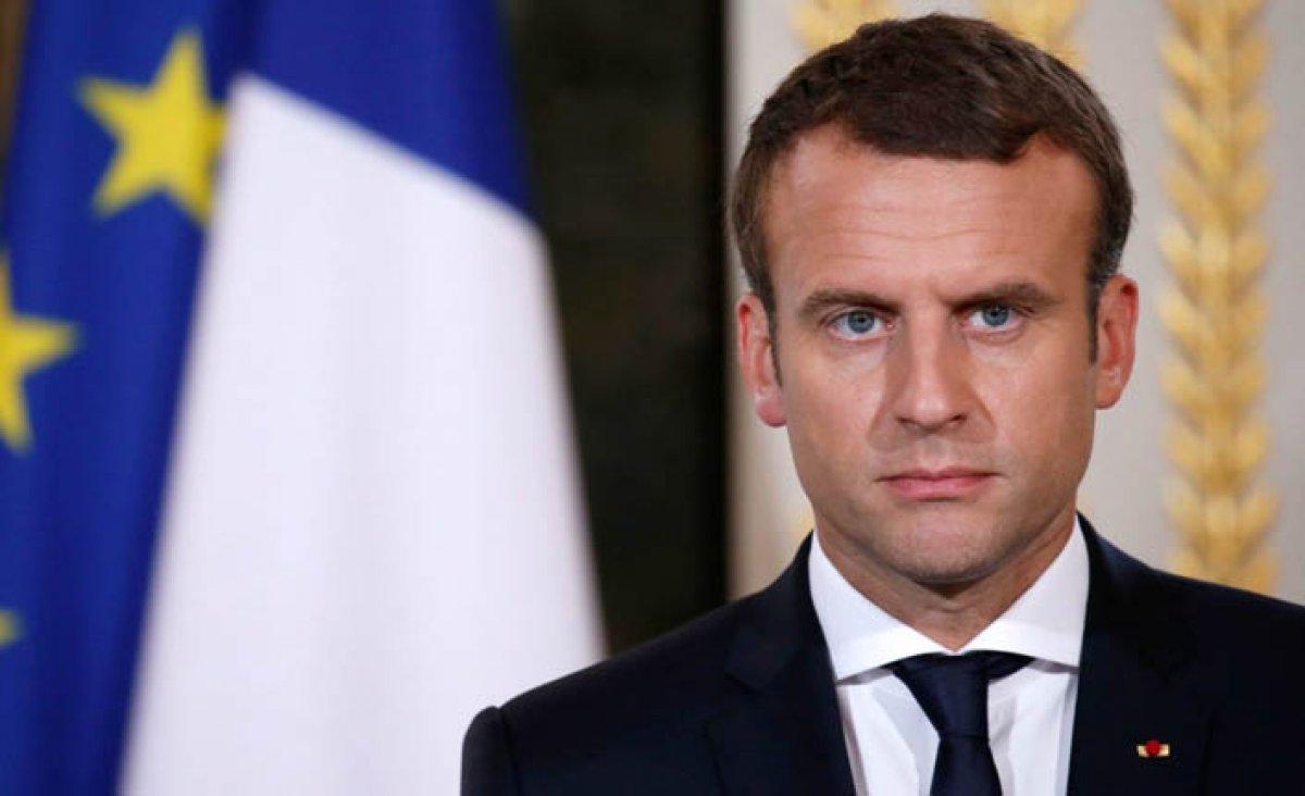 Macron'dan Fransız teröristler için Türkiye şartı