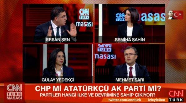 Canlı yayında kim daha Atatürkçü tartışması isyan ettirdi