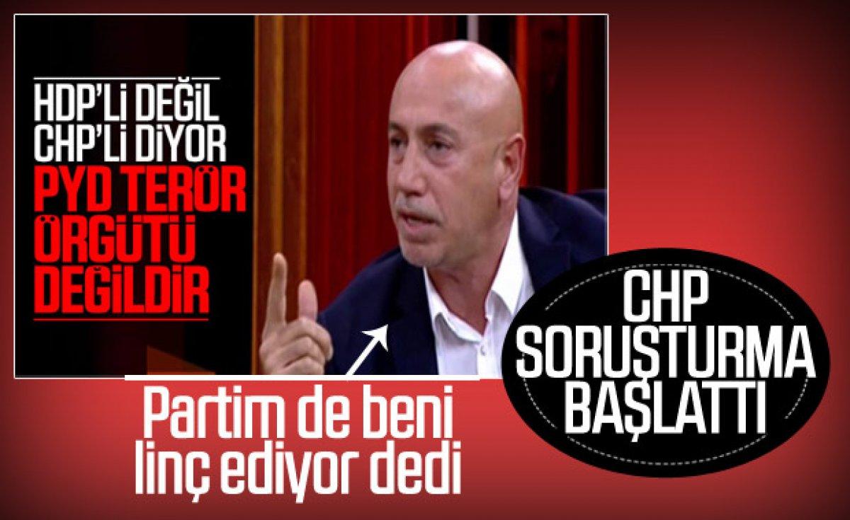 CHP FETÖ'ye teslim oldu diyen Yılmaz Ateş'e soruşturma