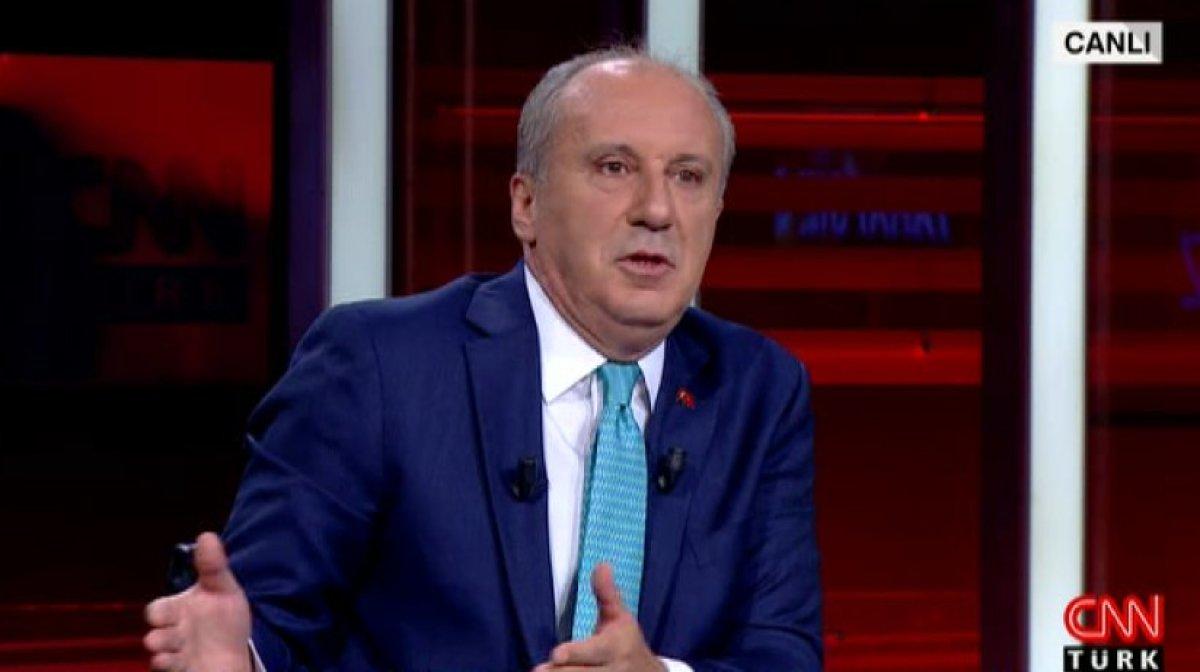 Muharrem İnce: CHP'de bana selam vereni de harcıyorlar