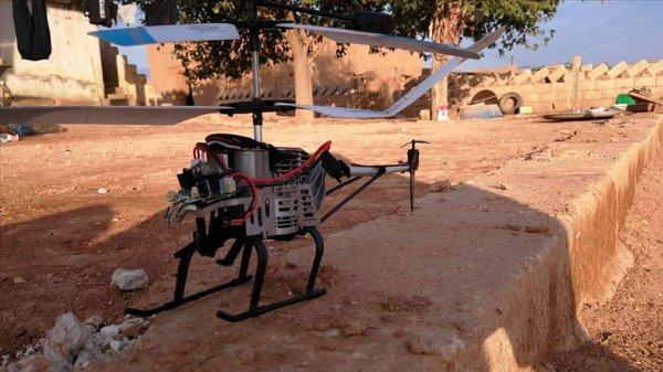 Suriye Milli Ordusu, Ayn İsa'da drone düşürdü